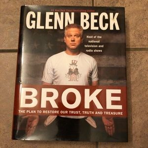 SALE 7/$20 hardback Glenn Beck  book